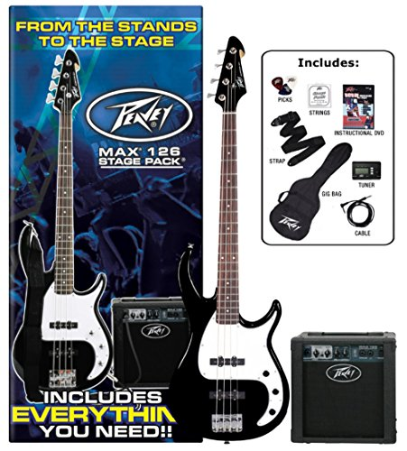 Peavey Electric Bass Guitar Pack Red by Peavey