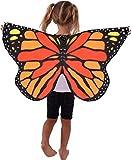 Kangaroo's Monarch Butterfly Wings for Kids
