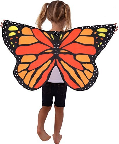 Kangaroo's Monarch Butterfly Wings for Kids ()