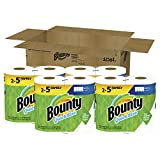 Bounty Quick-Size Paper Towels, White, 8 Family