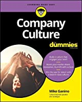 Company Culture For Dummies Front Cover