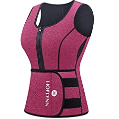 Keeps Thermal & Makes Triple Sweat: This compression sweat vest makes you sweat like crazy when you do regular workouts, keeps thermal during cold days, the Corset training vest can be worn under or cover your regular shirts       ...