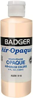 product image for Badger Air-Brush Company 8-10 Air-Opaque Airbrush Ready Water Based Acrylic Paint, Flesh , 4-Ounce