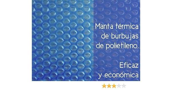 International Cover Pool Cubiertas térmicas sin Refuerzo 2x3 Metros 600 micras Espesor Piscinas: Amazon.es: Jardín