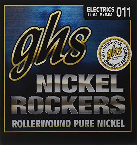 GHS R+EJM Nickel Rockers Custom Medium Electric Guitar Strings - Nickel Rockers Electric Guitar Strings