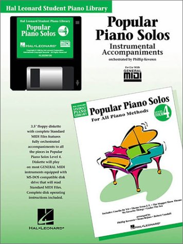 Popular Piano Solos - Level 4 - GM Disk: Hal Leonard Student Piano Library