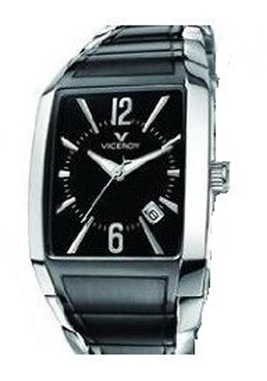Uhr Viceroy Cab Army Edelstahl bicolor IP schwarz 47401 – 99