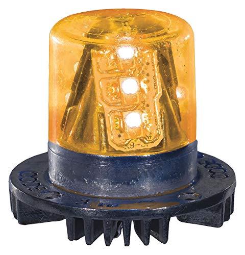 PSE Amber LED Hide-A-Blast Strobe Lighthead, White - HB915W ()