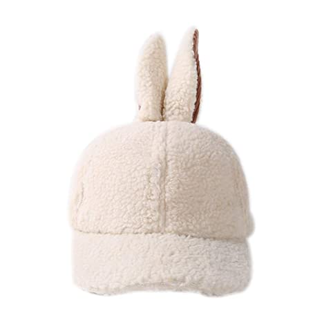 Doitsa niño Sombrero Otoño Invierno Cálido Gorro de Lana Forma de Orejas de Conejo  Mignons para da56ad9c5d1