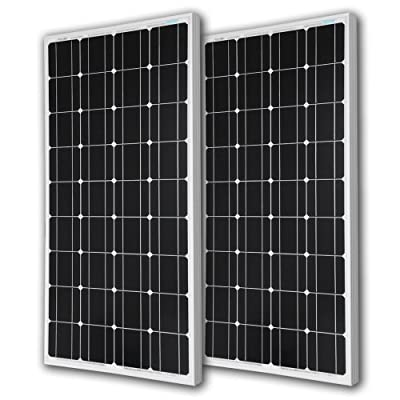 Best Cheap Deal for RENOGY® 100 Watt 100w Monocrystalline Photovoltaic PV Solar Panel Module 12V Battery Charging from Renogy - Free 2 Day Shipping Available