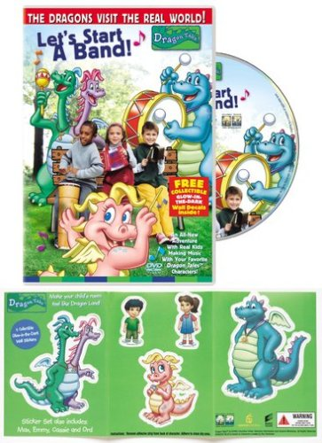 Dragon Tales - Lets Start a Band (With Collectible Sticker Set)