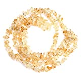 """Joe Foreman 6-8mm Natural Citrine Gravel Gemstone Chips Beads For Jewelry Making Wholesale Loose Beads Freeform Yellow 34"""""""