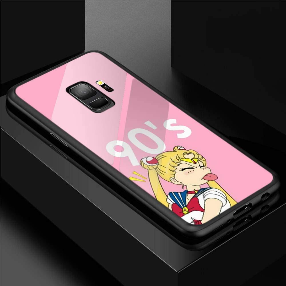 JINGJING for Samsung Galaxy S8 Plus Caja del teléfono de Cristal ...
