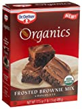 Dr. Oetker Organics Brownie Mix, Frosted Chocolate, 17.5-Ounce Boxes (Pack of 8)