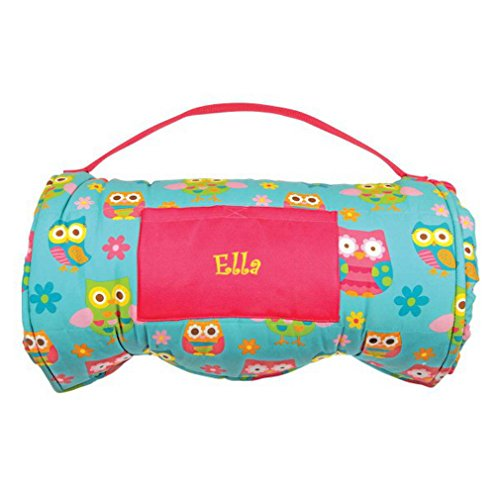 DIBSIES Personalization Station Personalized Toddler & Preschool Nap Mats - Owls -