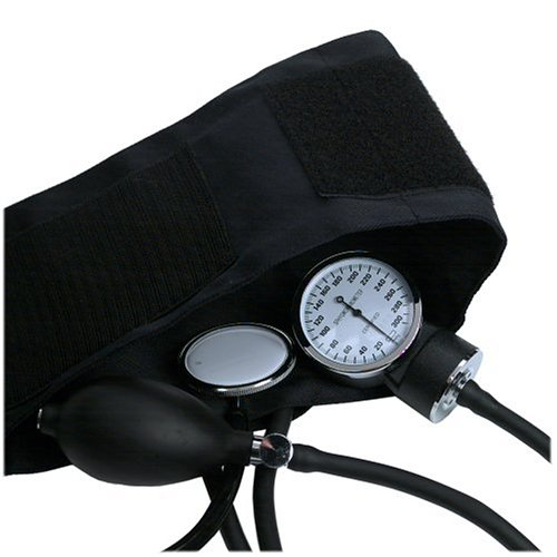 how to monitor blood pressure manually