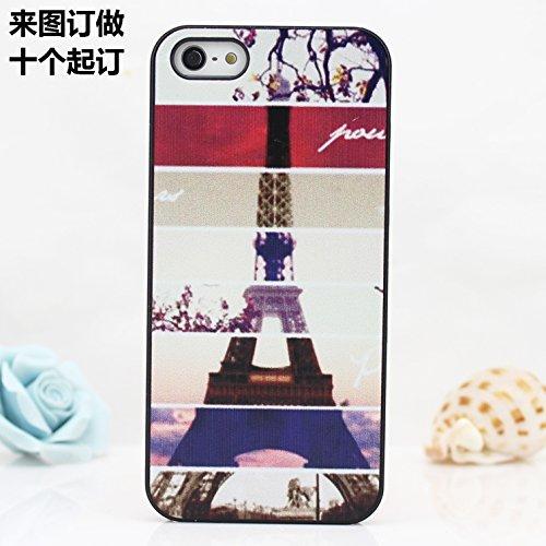 Infinite U Jewellery Peinture Différentes Saisons de la Tour Eiffel Modèle Phone Case/Coque/Etui/Housse de Protection pour iphone 6/iphone 6s (4.7 Pouces)