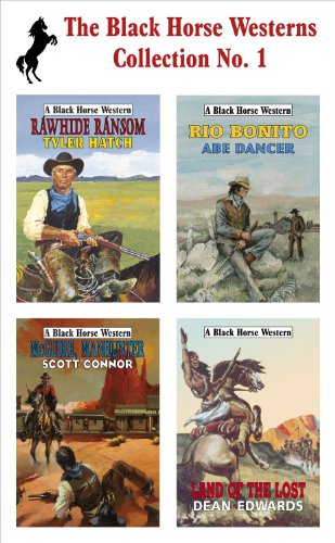book cover of The Black Horse Westerns Collection
