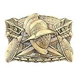 Gladiator belt buckle, Handmade Ancient Roman warrior military solid brass belt buckle