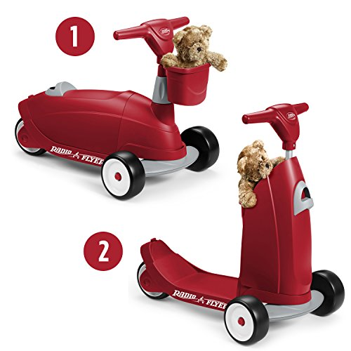 Radio Flyer Ride 2 Glide Ride On (Plastic Storage Radio Flyer)