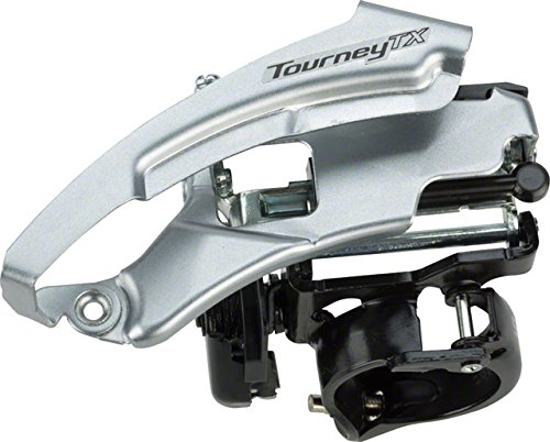 Front Shimano - Shimano Tourney Mountain Bicycle Front Derailleur - FD-TX800 - EFDTX800TSX6