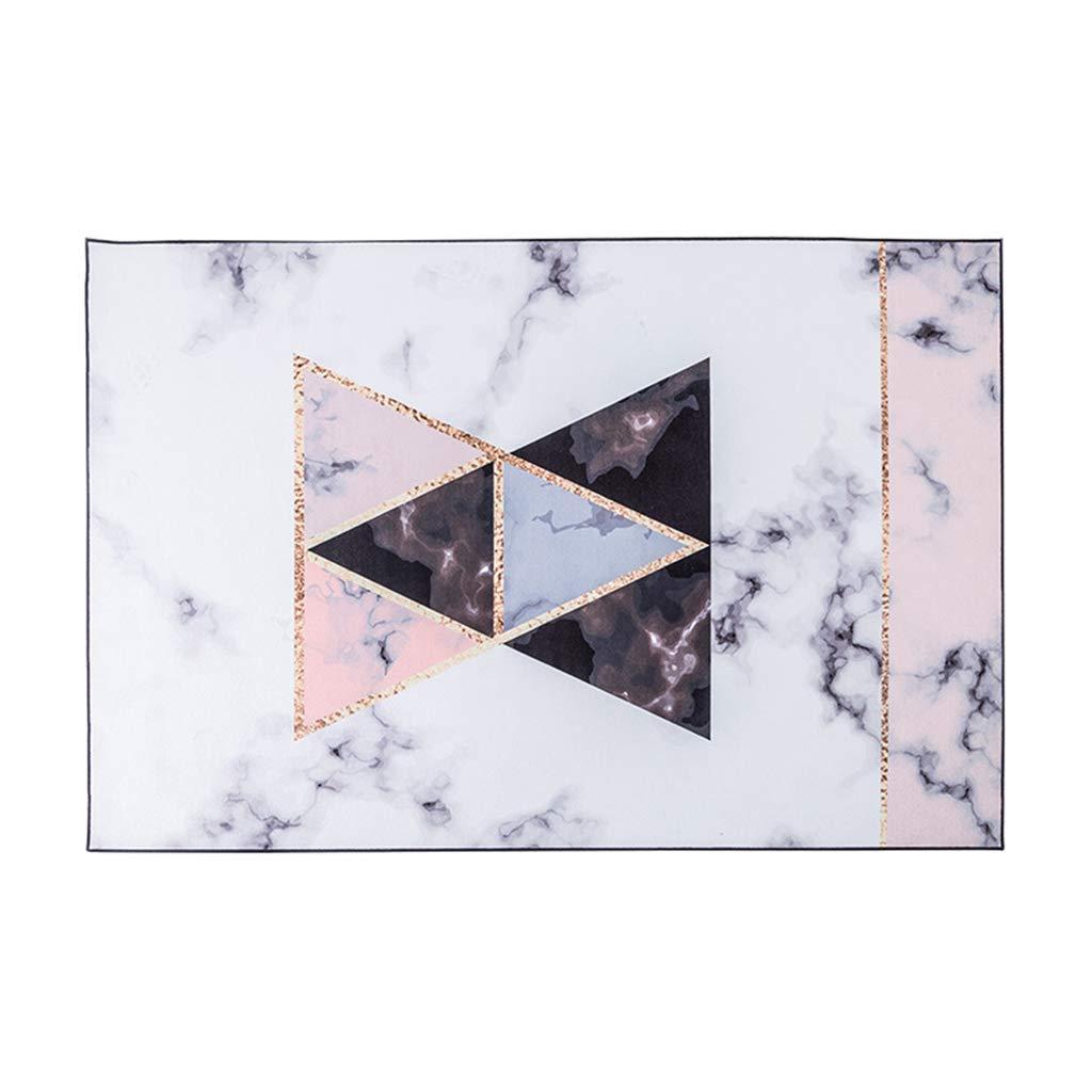 カーペットの絨毯モダンなミニマリストの絨毯柔らかい絨毯長方形の絨毯リビングルームのコーヒーテーブルマットの寝室ベッドサイドカーペットパッド (Color : PINK, Size : 140×200CM) B07S5QMXWW PINK 140×200CM