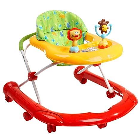 Axdwfd Andador Baby Walker, Trolley Plegable multifunción Anti ...