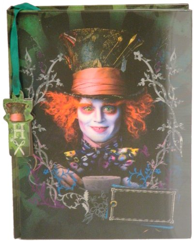 Classic Mad Hatter Set (Disney Mad Hatter Lenticular Diary (with Fabric Feel/Texture) 6