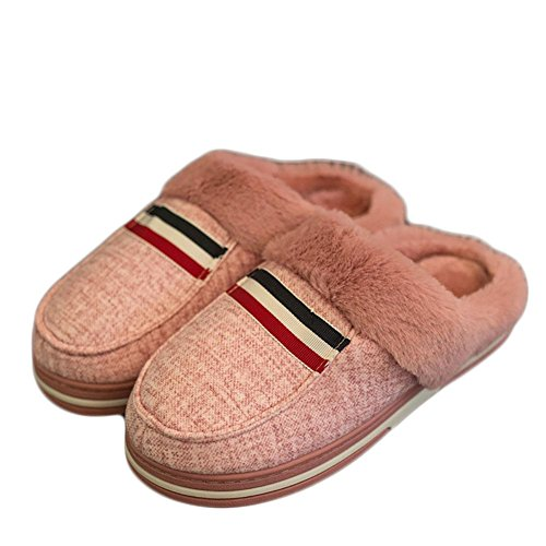 Room With Cging Soft Closed slip Lightweight 36 B Toe Cozy Ultra Anti 40 A Cotton Slippers 0dYwqCq