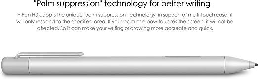 Nueva CHUWI hipen H3/l/ápiz capacitivo para CHUWI Hi13/ventana 10/Tablet PC estilo de alta calidad Classic cuerpo de metal l/ápiz capacitivo pluma l/ápiz capacitivo