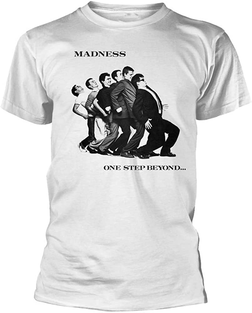Madness T Shirt One Step Beyond Band Logo Nouveau Officiel Homme