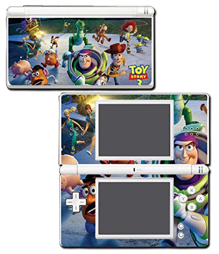 Toy Story 1 2 3 4 Buzz Lightyear Woody Mr Potato Head Rex Video Game Vinyl Decal Skin Sticker Cover for Nintendo DS Lite System