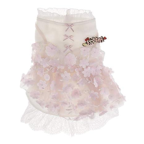 Vestido de Verano Lindo Diseño de Encaje para Perros ...