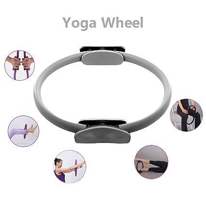 WCYYOGA Rueda De Yoga Anillo De Pilates De Lujo Anillo De La ...