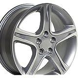 17x7 Wheel Fits Lexus, Toyota - IS Style Silver Rim, Hollander 74157