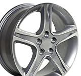 17x7 Wheel Fits Lexus, Toyota - IS Style Silver Rim, Hollander 74157