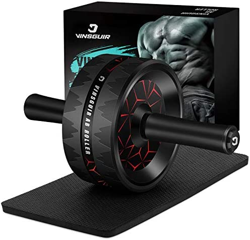 Vinsguir Ab Roller for Abs Workout, Ab Roller Wheel Exercise Equipment for Core Workout, Ab Wheel Roller for Home Gym, Ab Workout Equipment for Abdominal Exercise