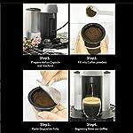 Macchina-da-caffe-autoadesiva-in-alluminio-100pcs-Foil-Lids-Argento