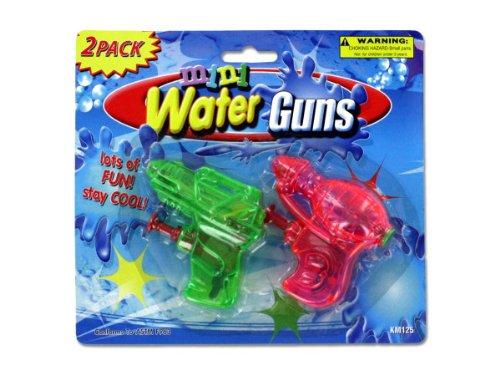 Bulk Buys KM125 Mini Water Guns Case of 144 by bulk buys