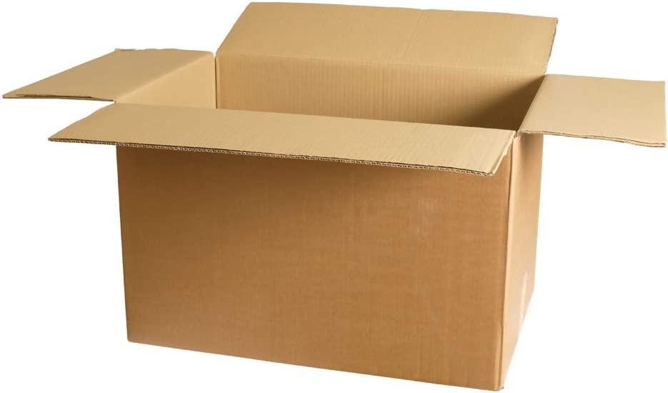 200 New Corrugated Boxes - 18 1/2x12 1/2x14-32 ECT - LxWxH