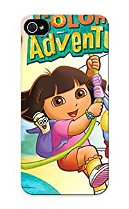 Hot More App Related Dora The Explorer Coloring Adventures First Grade Tpu Phone Case For Iphone 5/5s Case Cover