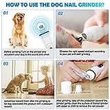 Dog Nail Grinder by Ieebee- Upgraded Adjustable