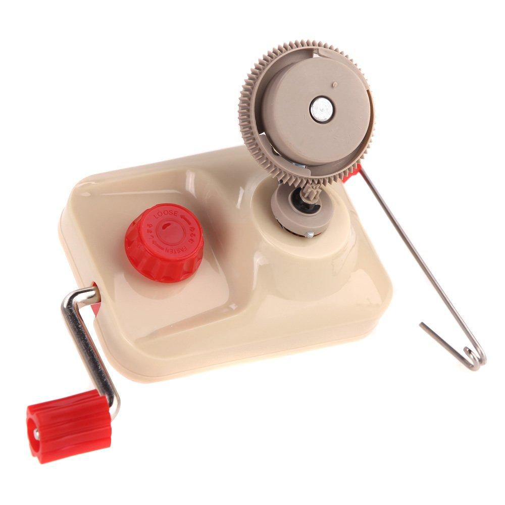 EverTrust(TM)New Hand-Operated Yarn Winder Fiber Wool Machine Type Fast String Machine Cable Organizer Management