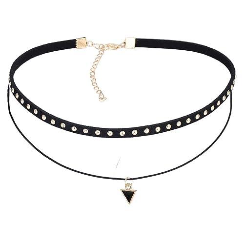 Mingjun Gargantilla Collar para las mujeres, moda sencillo collar ...