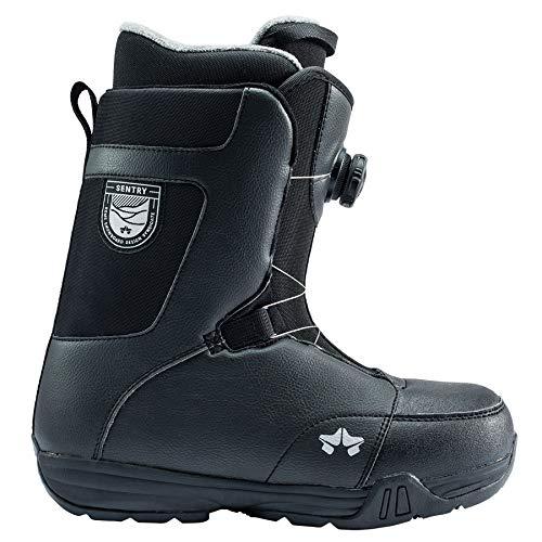 (Rome Snowboards Sentry Boa Snowboard Boots, Black, 9)