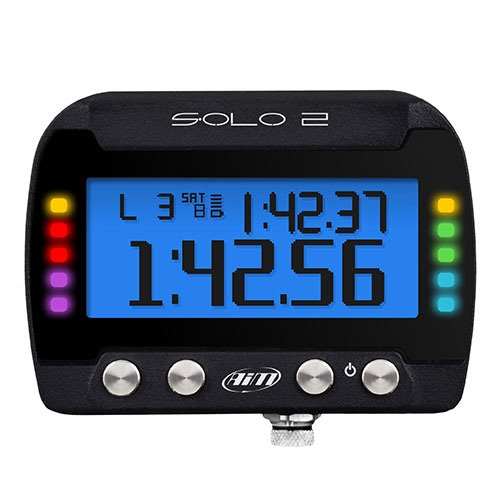 (AIM Solo 2 GPS Lap Timer)