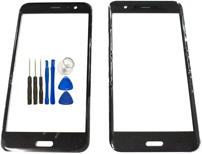 Pantalla de cristal de repuesto para HTC U11 – Negro Pantalla ...
