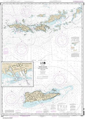 virgin islands nautical chart - 3
