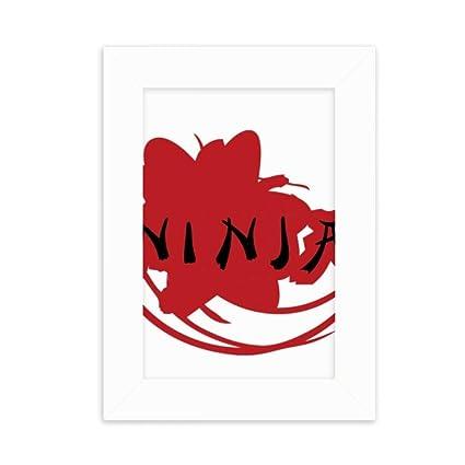 Amazon.com - DIYthinker Japan Ninja Words Sakura Silhouette ...