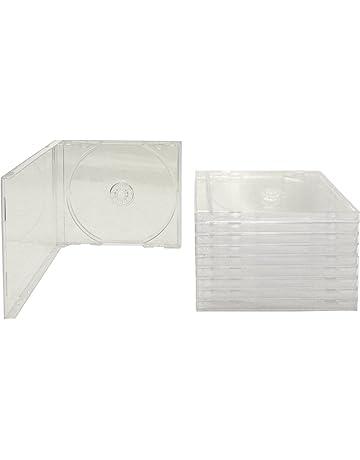 amazon com disc jewel cases electronics